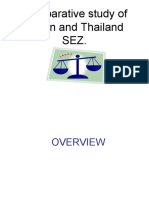 Comparative Study of Indian and Thailand SEZ