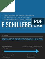 Presentación Schillebeeckx