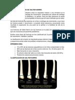 FRACTURAS FISARIAS DE SALTER
