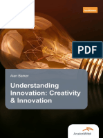 Understanding Innovation Creativity Innovation