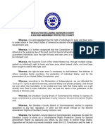 Resolution - Second Amendment Protection 1-14-20 v3