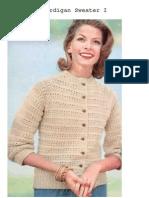 Knitting Cardigan Sweater