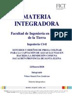 Lineamientos de Materia Integradora 2019-II SACACHUN