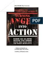 Hakim Archuletta - Turning Anger Into Action