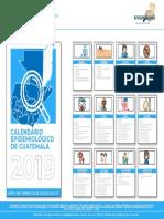 CALENDARIO ANUAL EPIDEMIOLOGICO 2019