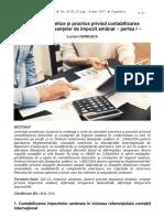 Abordări teoretice și practice privind contabilizarea datoriilor și creanțelor de impozit amânat – partea I –.pdf