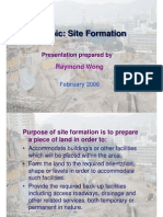 Site Formation