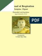A Manual of Respiration by Ledi