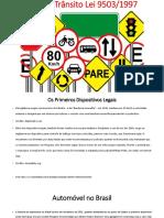 Crimes de Trânsito Lei 9503