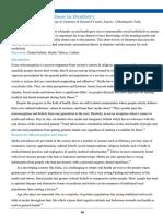 Social Myths & Taboos in Dentistry- Journal of Dental Health of India