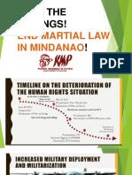 Stop the Killings in Bukidnon 2019