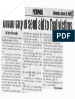 Peoples Journal, Jan. 15, 2020, Davao City to send aid to Taal victims.pdf