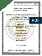 INFORME # 2 SISTEMA DE EMBRAGUE (inspeccion en el vehiculo) (1)