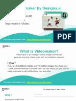 Designs.ai | Videomaker - The Ultimate Guide To Make An Impressive Video