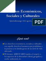Derechos Económicos, Sociales y Cultuales