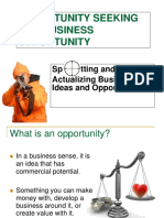 OPPORTUNITY SEEKING-PPT