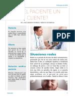 Paciente o cliente