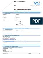 ACETYL CHLORIDE EXTRA PURE MSDS