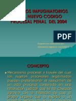 RECURSOS IMPUGNATORIOS en el NCPP.ppt