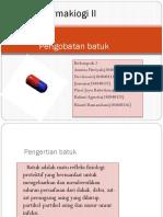 Pengobatan batuk (KEL 2)