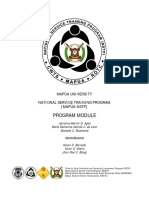 NSTP Program Module.pdf