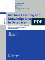 ML & Knowledge Discovery in Databases I
