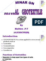 Natural Geotextile