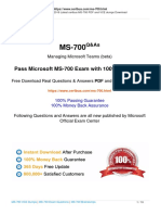 Format Version for Free Certbus Microsoft MS-700 Dumps With Exam Questions Download