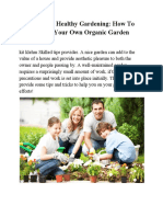 Kit Klehm Healthy Gardening How to Create Your Own Organic Garden