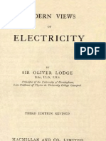 Modern Views on Electricity