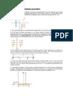 PROBLEMAS DE POTENCIAL ELECTRICO-condensadores