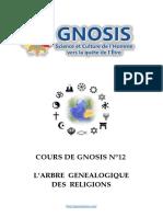 Cours de Gnosis - Leçon 12
