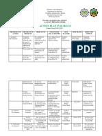 SCIENCE ACTION PLAN 2019-2020 ERIKA