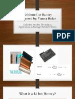 Lithium Ion Battery YEMNA PRESENTATION.pptx