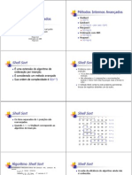 02 Ordenacao Interna - Metodos Avancados