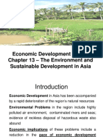 Cengage Eco Dev Chapter 13 – The Environment and Sustainable Development in Asia.ppt