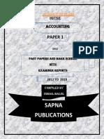 O LEVEL PRINCIPLE OF ACCOLUNTS PAPER 1(2012-2018-ER)