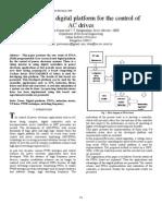 FPGA Based Digital Platform for the Control Of