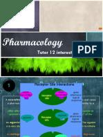 PPT Pharmacology - Tutor 12
