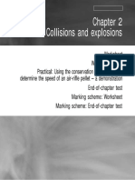 Physics - Chapter 2 - Collisions and explosions