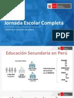 PPT -JORNADA ESCOLAR COMPLETA 2020 - COMPONENTES, BENEFICIOS