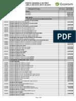 Lista Generala de Pret BLANCO 01.05.2019