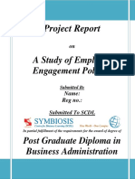 A Study of Employee Engagement Policies.docx