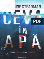 Catherine Steadman, Ceva in Apa Scan