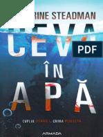Catherine Steadman, Ceva in Apa Scan