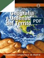 Programación del Grado de Geografía y Organización del Territorio