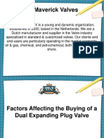 Factors Affecting the Buying of a Dual Expanding Plug Valve