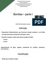 Bombas – parte I