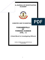 Fundamentals of Forensic Science_Vol_I