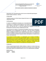 MEMORIA DESCRIPTIVA NUEVO HOSPITAL HERMILIO VALDIZAN DE HUANUCO